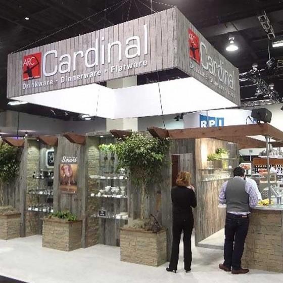 Cardinal International Design, Construction, Installation and Dismantling a Trade Show Exhibit