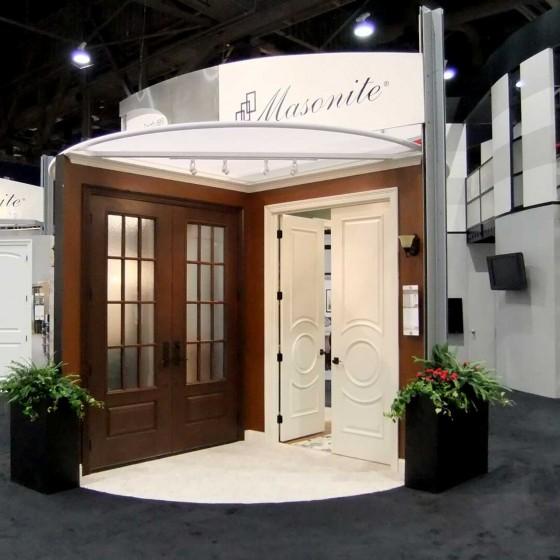Masonite Doors Trade Show Exhibit