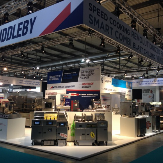 Middleby Corporation Trade Show exhibit, Milan Italy. HOST Milano 2015