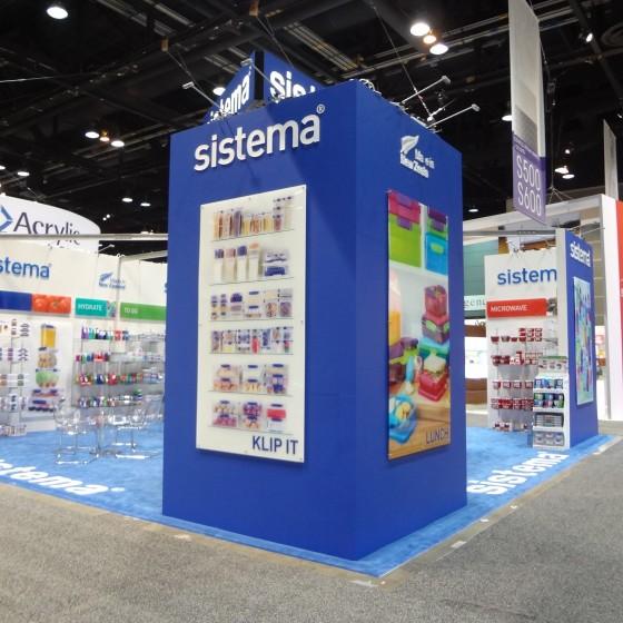Sistema Trade Show Exhibit