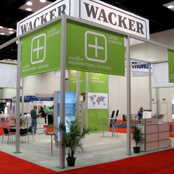 Wacker Trade Show Exhibit